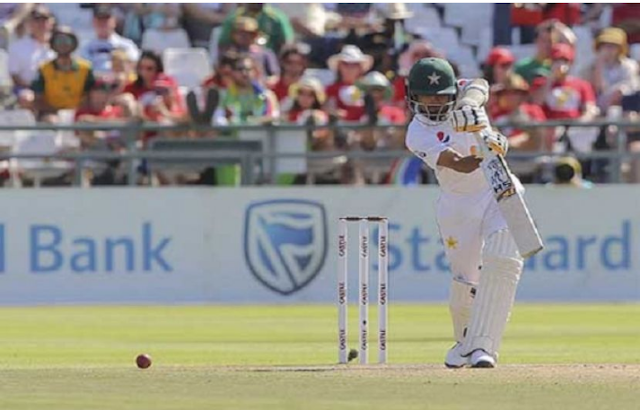 Johannesburg Test Pakistan's first innings 185 runs