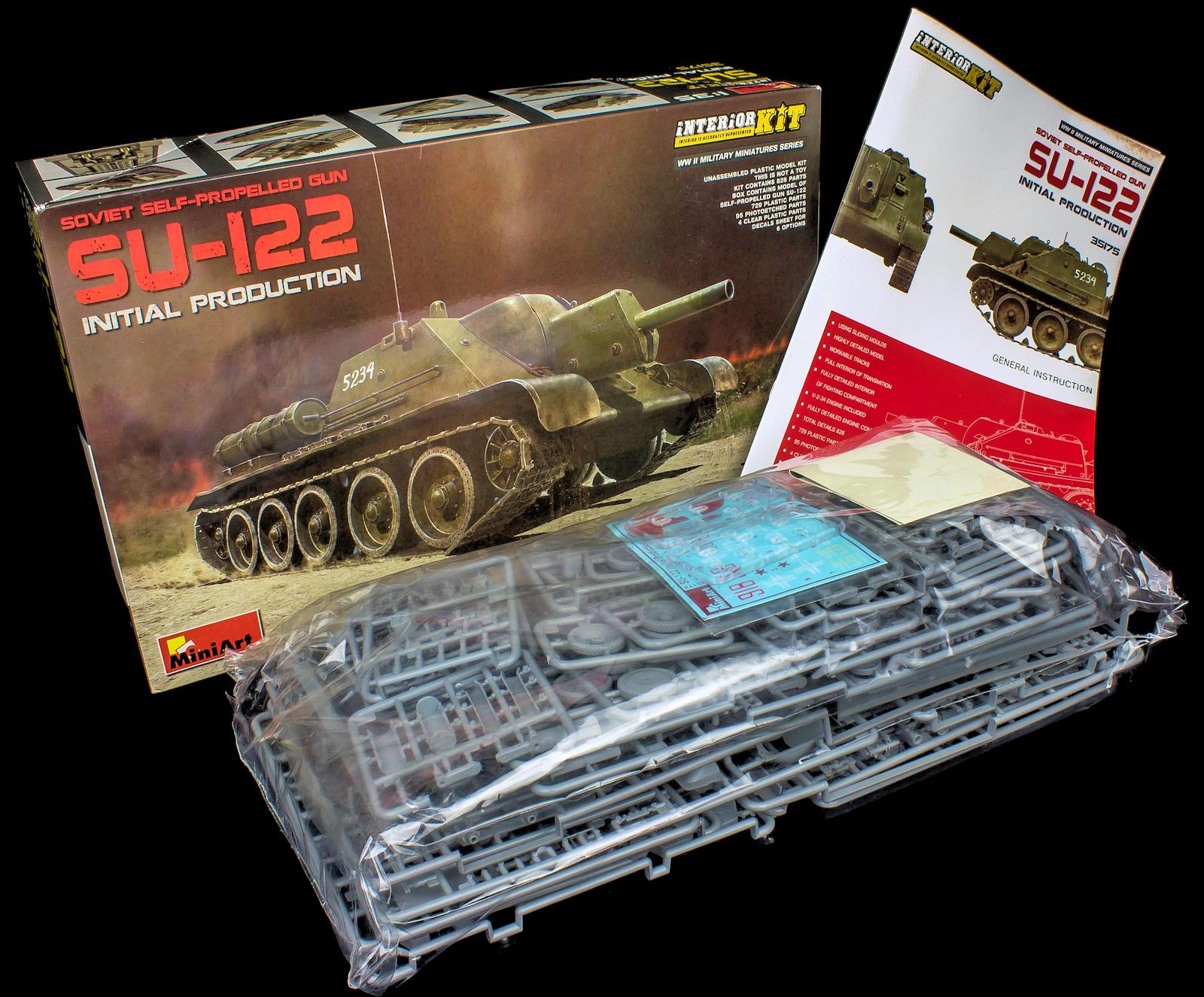 the modelling news su build pt ii miniart s 35th scale su 122