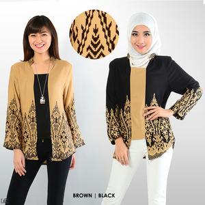 Ini Dia Model Baju Batik Untuk Kerja Bagi Anda Yang Bertubuh Gemuk Leyla Hana