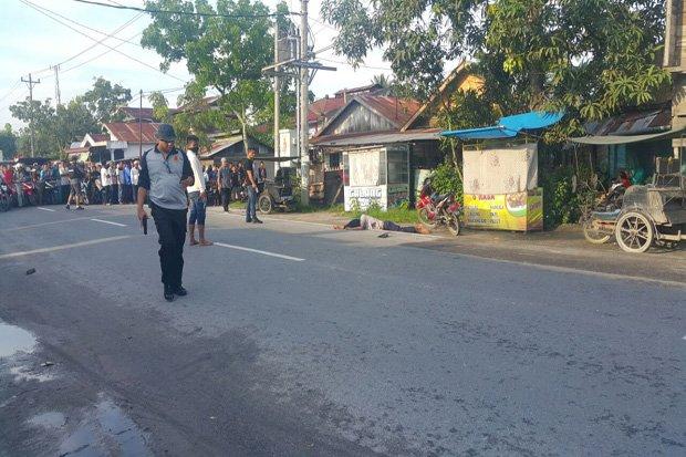 Densus 88 Tembak Mati Terduga Teroris di Tanjung Balai, Sumut