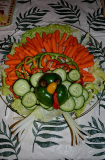 thanksgiving vegetable turkey