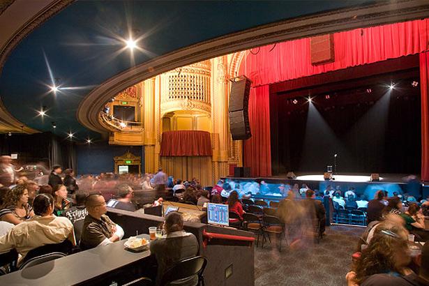 San Francisco Theatres The Warfield Theatre Interior