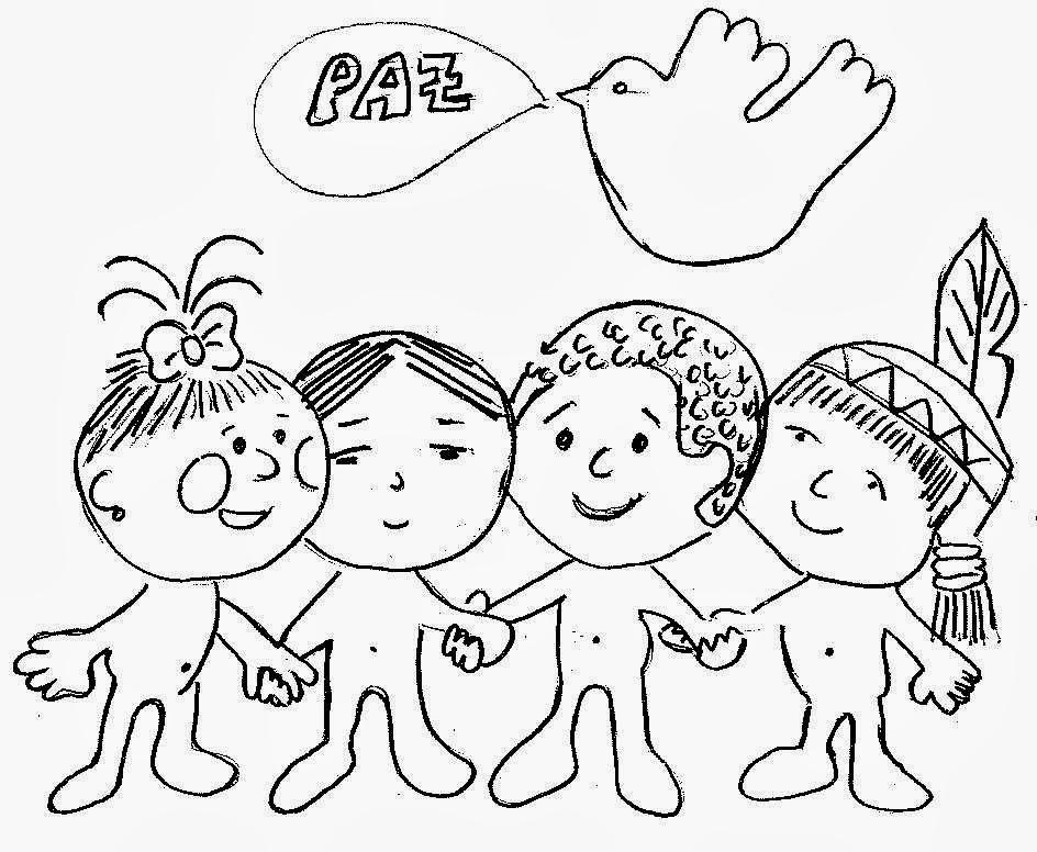 Dibujo Por La Paz En El Mundo