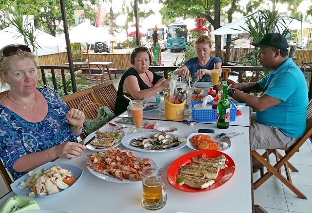 цены на морепродукты на бали в ресторане