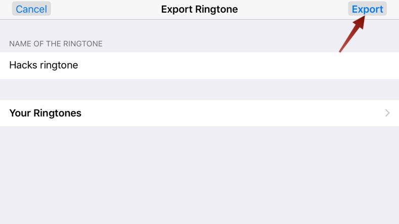 cara memakai lagu untuk nada dering iphone