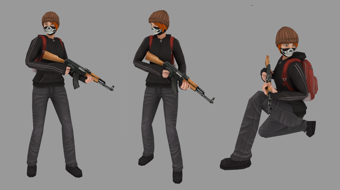 how to change character model in csgo