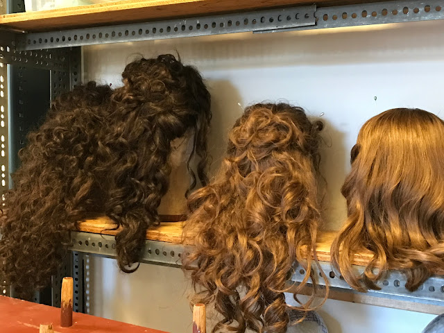 Lyric Opera Chicago Wig room