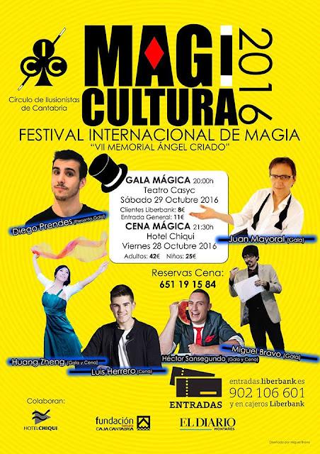 Festival Internacional de Magia Magicultura 2016