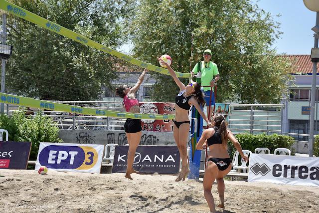 Σε εξέλιξη το North Area Beach Volley Circuit στην Τούμπα [φωτογραφίες]