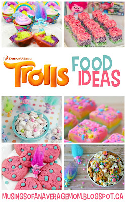 Trolls food ideas