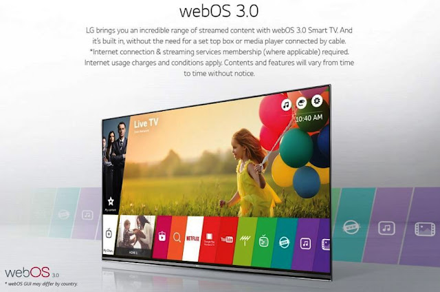 WebOS 3.0 TV LED LG 43UH610T Ultra HD Smart TV 43 Inch