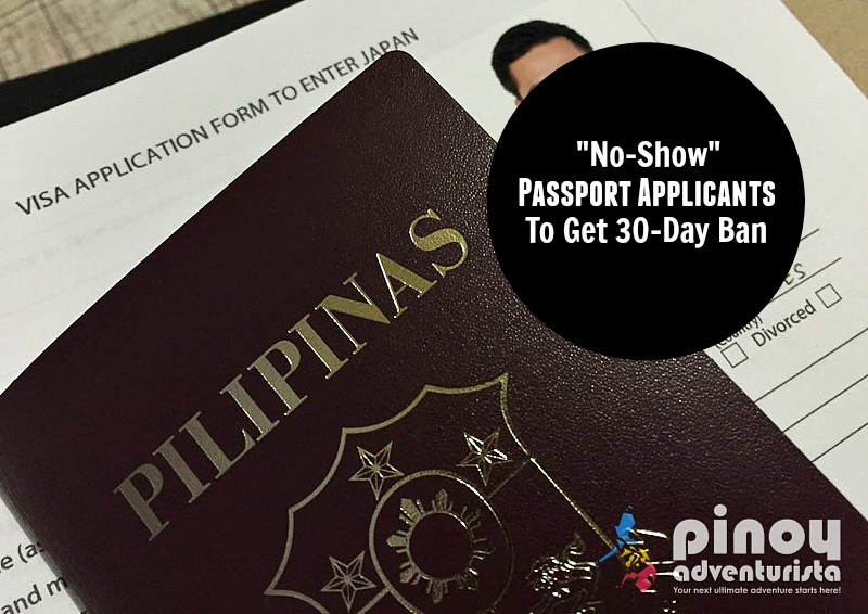 Dfa starting june 1 no show passport applicants to face 30 day starting june 1 no show passport applicants to face 30 day ban ccuart Images