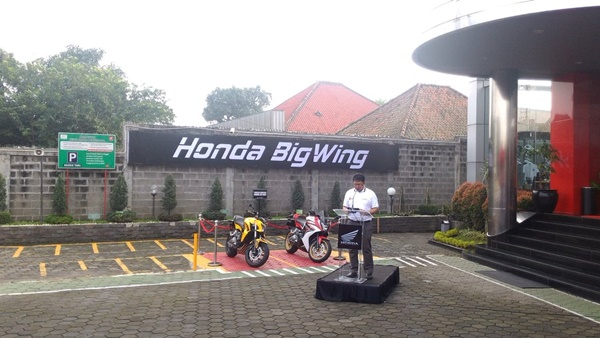 Honda Launching Big Wing Khusus Big Bike