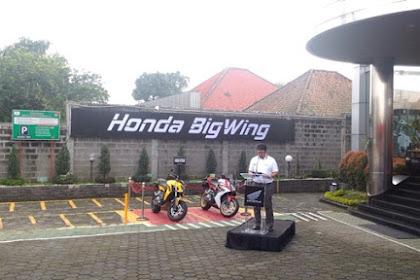 Honda Launching Big Wing Khusus Big Bike