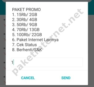 Promo Paket Internet Telkomsel