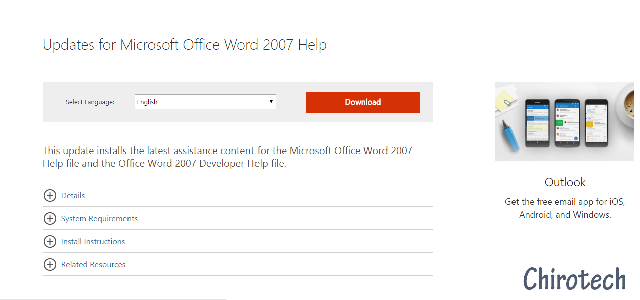 microsoft word 2007 free download for android