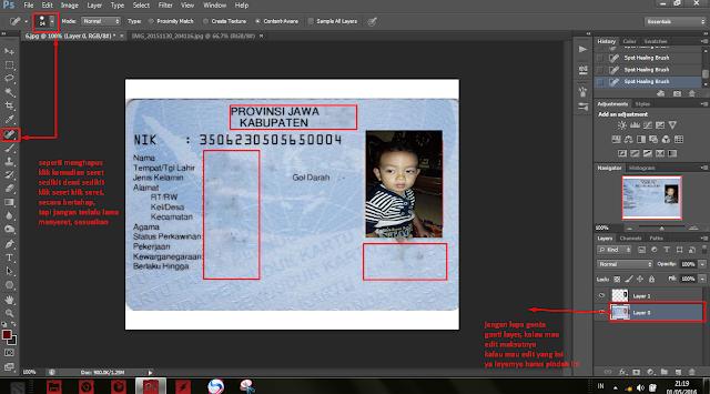 Tutorial Coreldraw & Adobe Photoshop Pemula: cara membuat