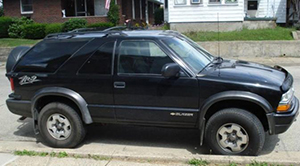 Chevrolet Blazer - mobil maut