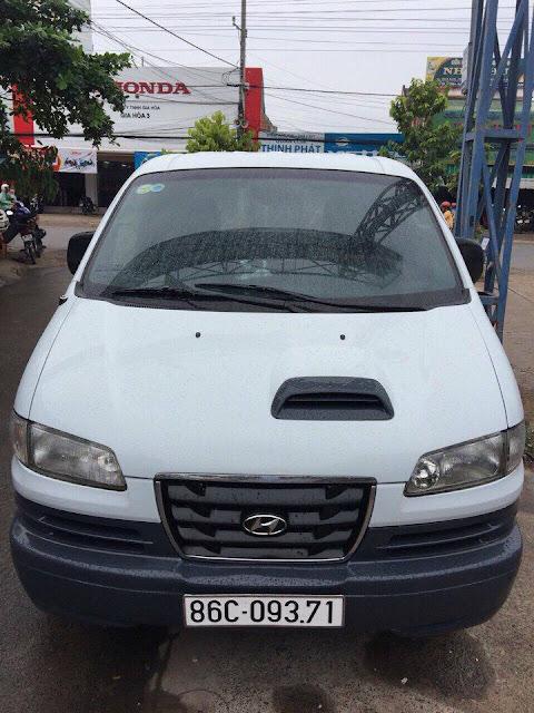 Hyundai Libero Trắng Đời 2002 - ĐK lần đầu 2007
