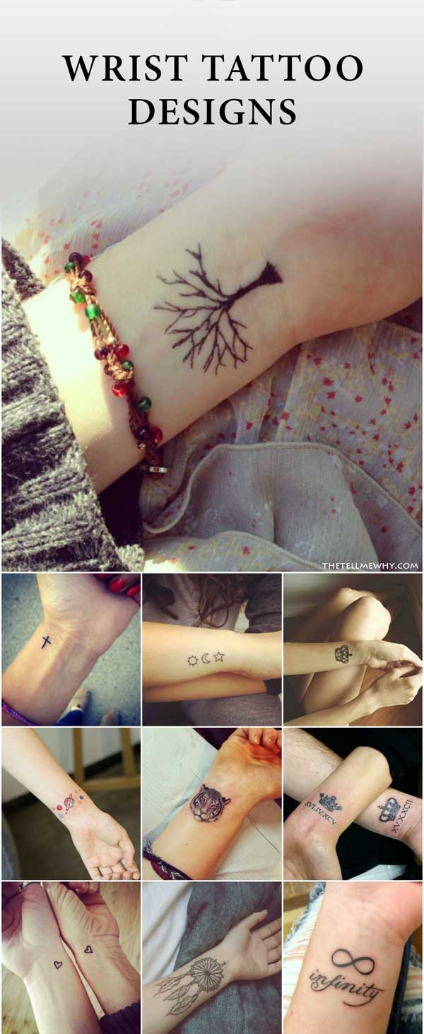 10+ Inspiring Cool Wrist Tattoos For Men & Women To Get Now