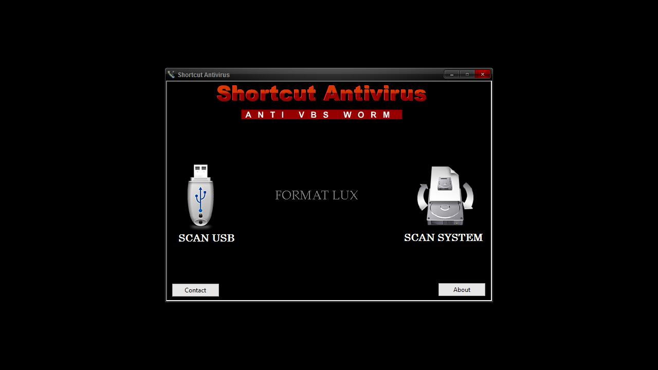 antivirus shortcut remover free download usb