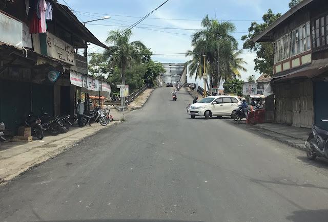 Jalan Rusak Akibat Proyek Tol Sudah Mulus Kembali