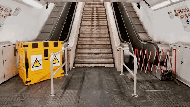 La Commissione Mobilità sulle scale mobili