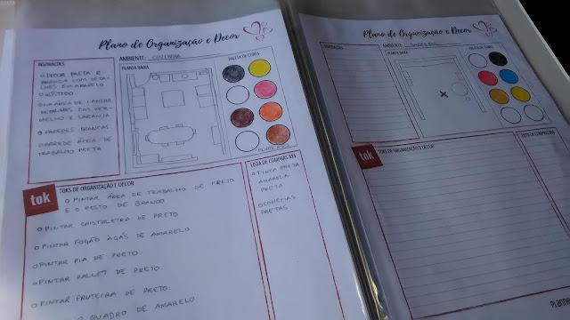 Plano de Organização e Decor - meu amado planner