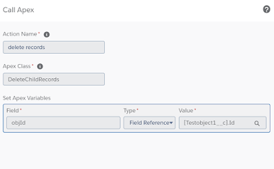 Calling apex method from process builder in Salesforce