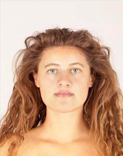 rostro reconstruido de la joven Ava