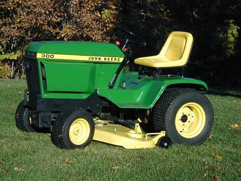 Robert's Projects: John Deere 300 Tractor  Mule Hitch