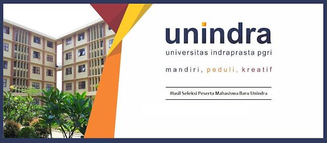 Pengumuman Mahasiswa Baru Universitas Indraprasta PGRI (Unindra) 2018 untuk (S1)