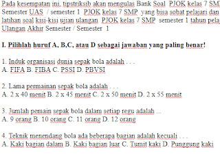 Soal-Ujian-UAS-UKK-PJOK-kelas-7-SMP-semester-1