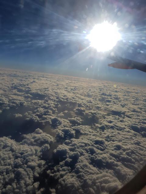 עננים מהמטוס