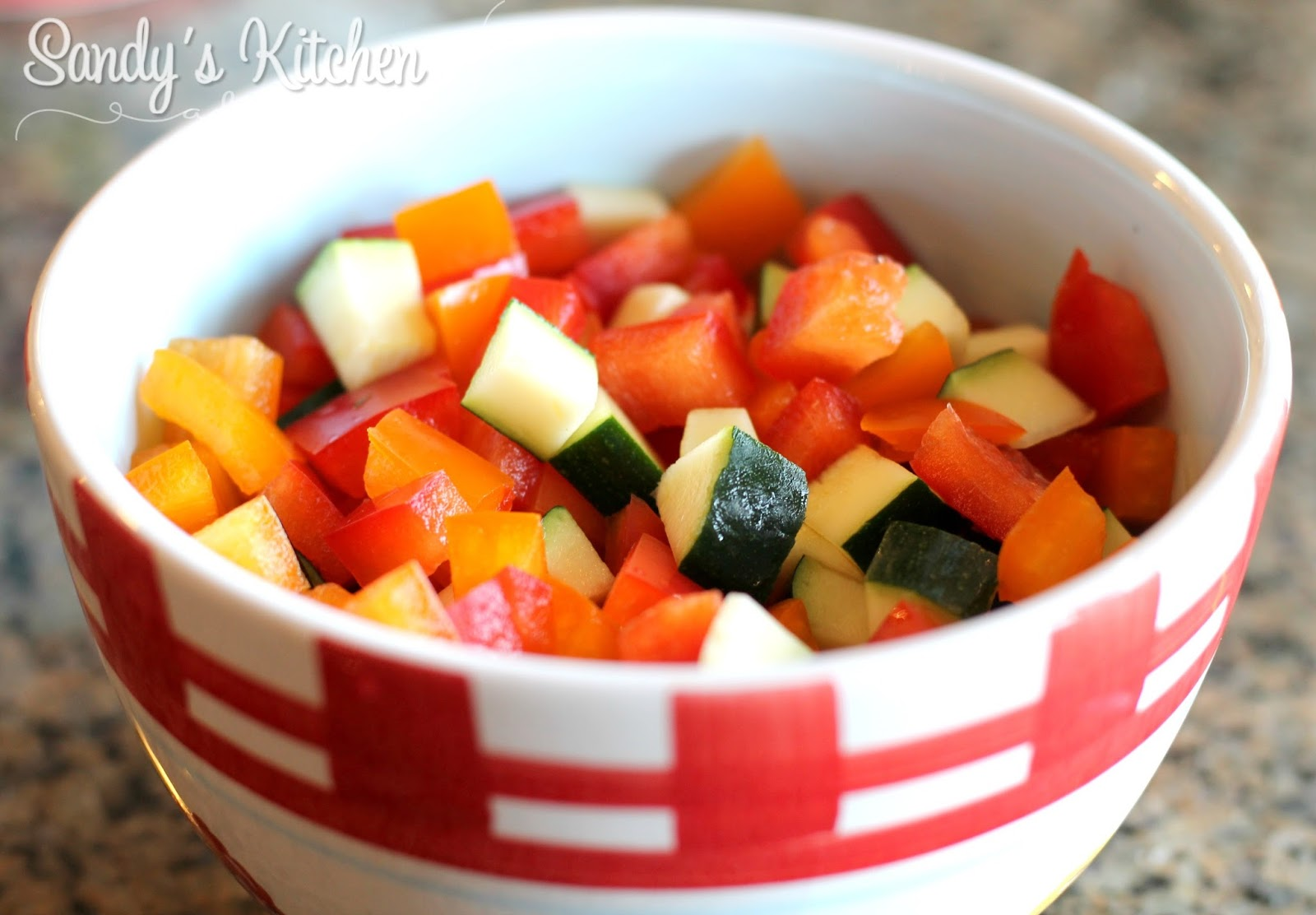 Cheesy Taco Vegetable Skillet | Sandy\'s Kitchen