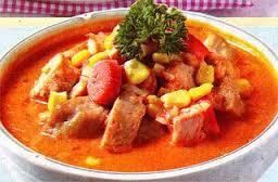 makanan, kuliner, lauk, sayur,  Cara Membuat Sup Tomat Daging Asap Enak Nikmat Nagihin