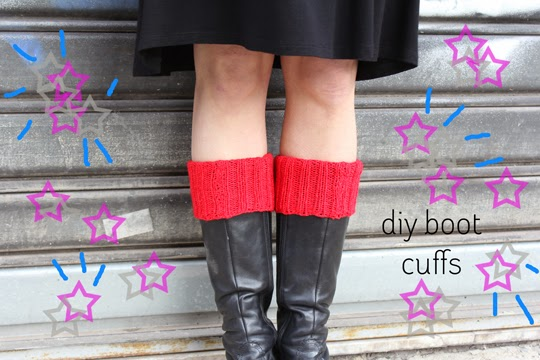 http://www.archieandtherug.com/2013/03/knit-your-own-boot-cuffs-diy.html