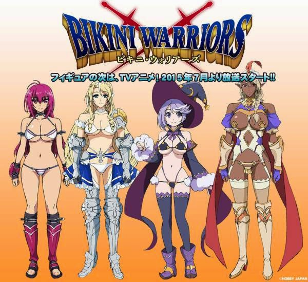 Bohaterki anime Bikini Warriors