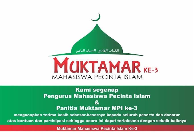 Galeri Muktamar ke-3 MPI (1)