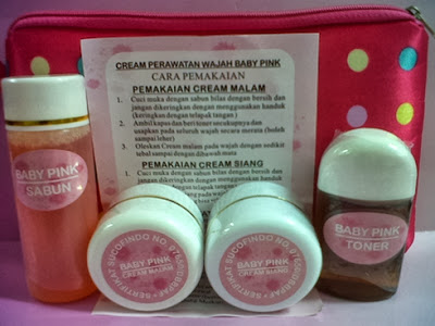 Cream Baby Pink Asli Bersertifikat