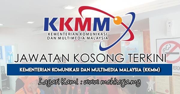Jawatan Kosong Terkini 2019 di Kementerian Komunikasi dan Multimedia Malaysia (KKMM)