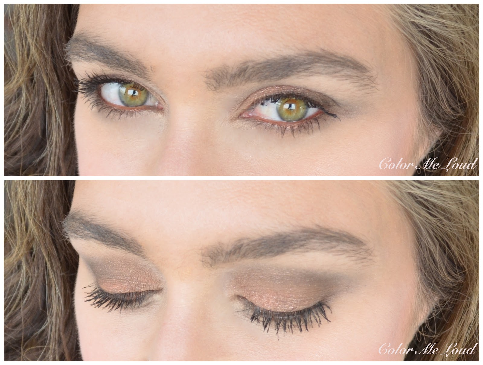 1e00abcc2b1 In-action  Chanel Eyeshadow Palette in Entrelacs over Illusion d Ombre  Rouge-Gorge