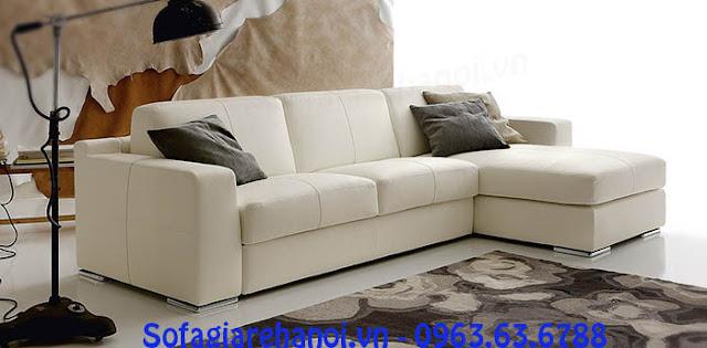 Hình ảnh kê bộ ghế sofa góc chữ L như thế nào cho phù hợp với căn phòng khách gia đình
