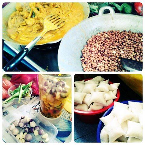 Resepi Nasi Impit Kuah Kacang Kelantan - Soalan Mudah x