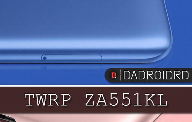 karena selain harga smartphone ini yang terjangkau Cara Pasang TWRP Asus Zenfone Live (L1) ZA551KL