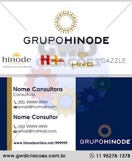 Cartão de Visita Grupo Hinode