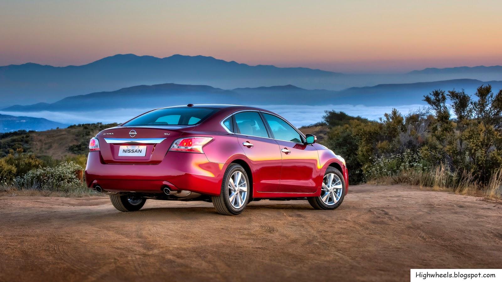 2015 Nissan Altima 2.5 Sv >> 2015 Nissan Altima - High Wheels