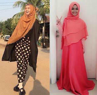 Cara Memakai Hijab Ala Ria Ricis Terbaru