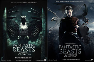Sinopsis Fantastic Beasts as well as Where To Find Them (2016)