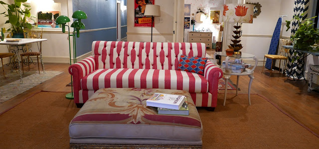 Striped Sofa from the Set of La La Land